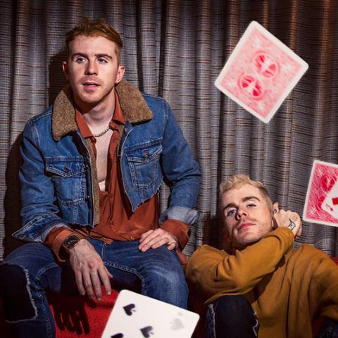 Brian and Scott Nicholson